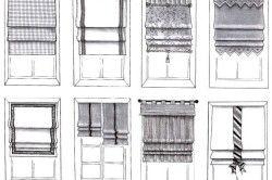 Варіанти оформлення вікна шторами