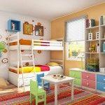 Інтерєр дитячої кімнати фото