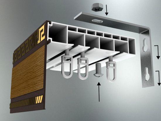 Фото - Як кріпити стельовий карниз до гипсокартонному і натяжної стелі?