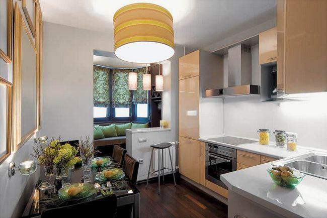 Фото - Як краще поєднати лоджію і кухню?