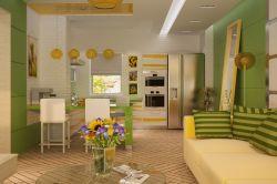 Фото - Як краще зонувати кухню і вітальню