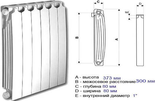 Фото - Як монтувати біметалічні радіатори