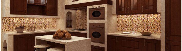 Фото - Як можна використовувати мозаїку в інтер'єрі кухні