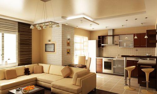 Фото - Як можна з кухні зробити кухню вітальню