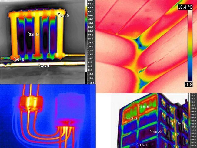 Фото - Як можна застосувати тепловізор при будівництві?