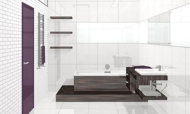 Фото - Як можна зробити дизайн звичайній ванні кімнати?