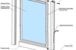 Схема збірки двері шафи
