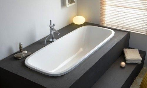 Фото - Як можна вбудувати ванну в подіум?