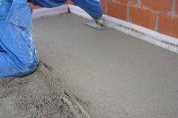 Процес стяжки підлоги