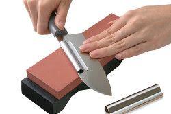 Заточка керамічного ножа