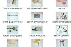 Інструменти для виготовлення фактурної штукатурки