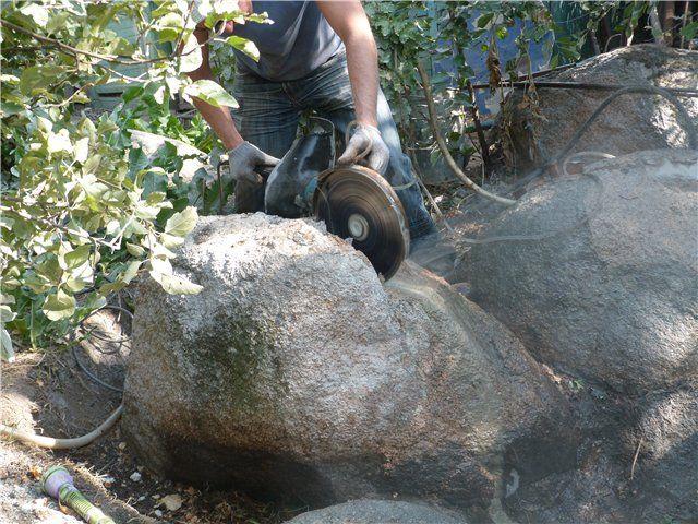 Як потрібно правильно колоти камінь?