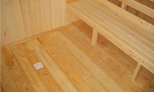 Фото - Як обладнати підлогу в лазні на каркасній основі