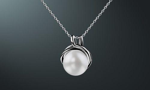 Фото - Що являє собою підвіска з перлами зі срібла?