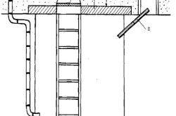 Схема вентиляції льоху з витяжними каналами.