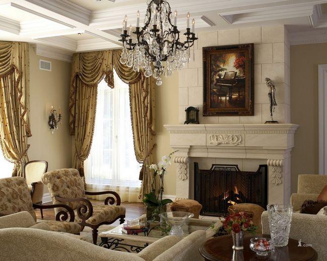 Фото - Як оформити інтер'єр вітальні в класичному стилі?
