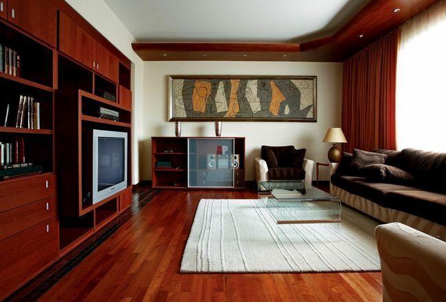 Фото - Як оформити інтер'єр вітальні в сучасному стилі?