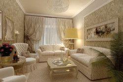 Приклад оформлення вітальні в класичному стилі