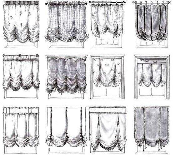 Фото - Як здійснити пошиття французьких штор своїми руками?