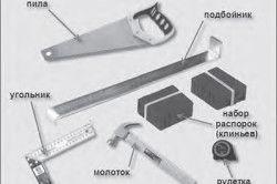 Інструменти для монтажу сходів