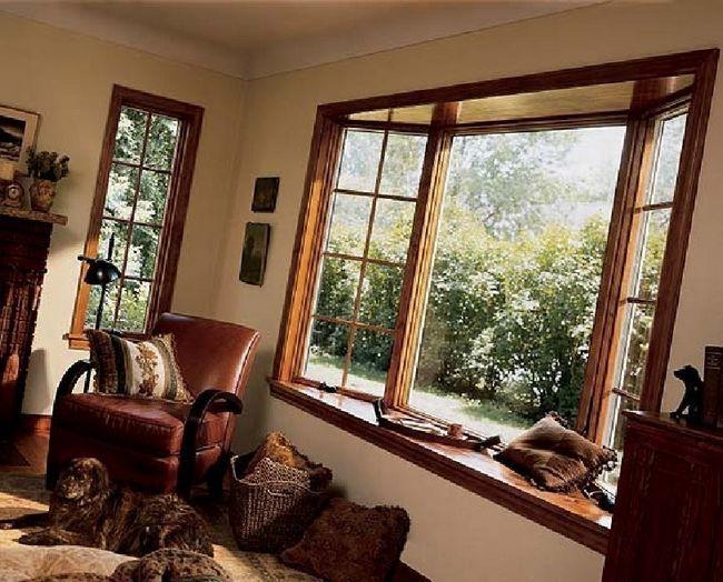Деревяні вікна отремонтіроват не складе великих труднощів.