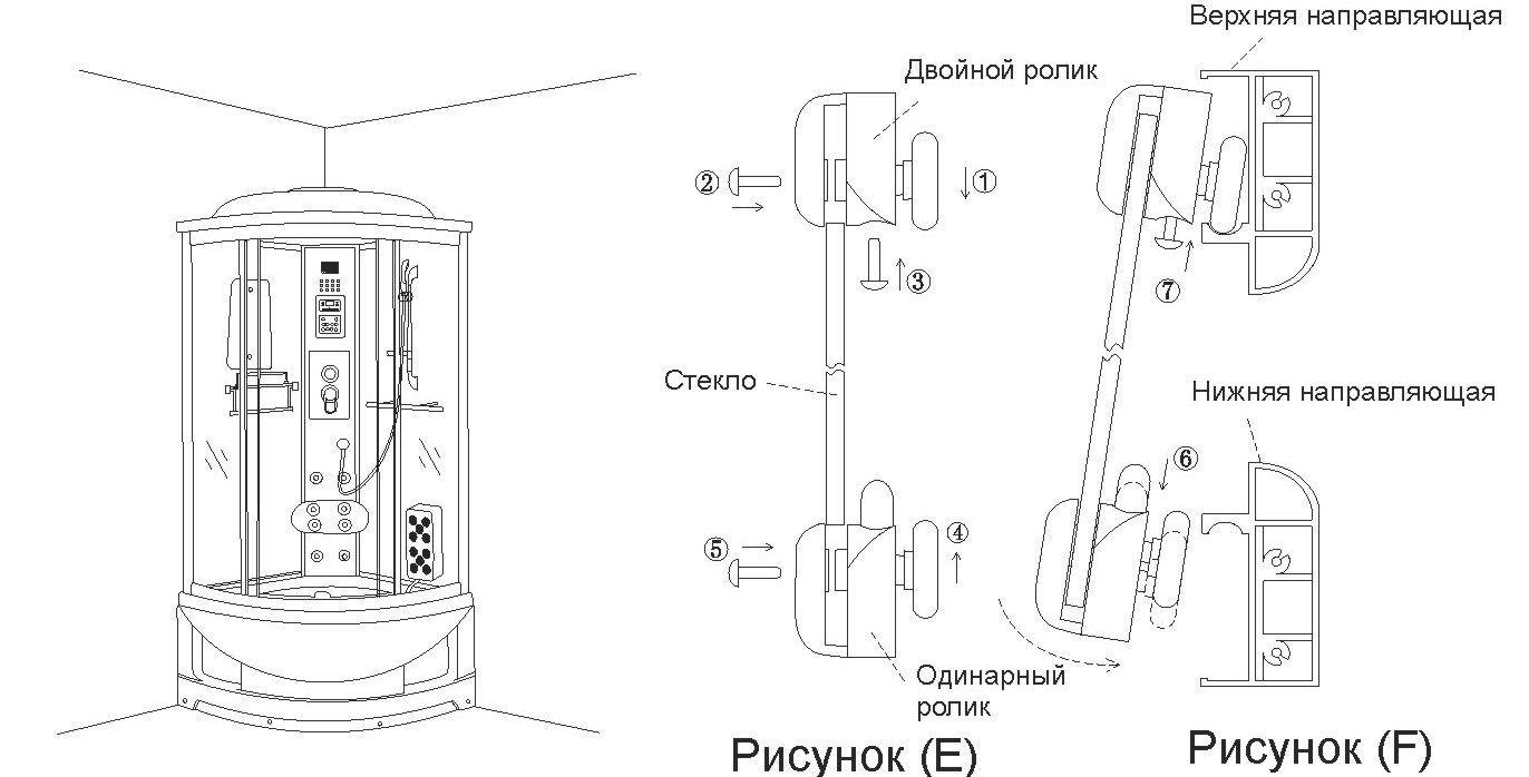 Фото - Як відремонтувати душову кабіну?