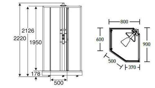 Фото - Як полагодити дверцята душової кабіни?