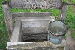 Непридатна для пиття вода з колодязя