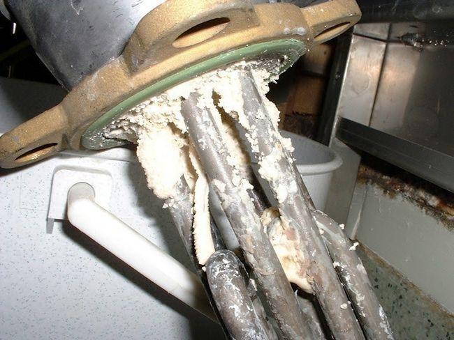 Накип на водонагрівачі