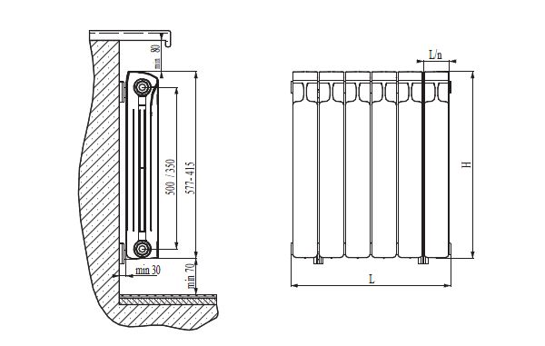 Фото - Як підключити біметалічний радіатор