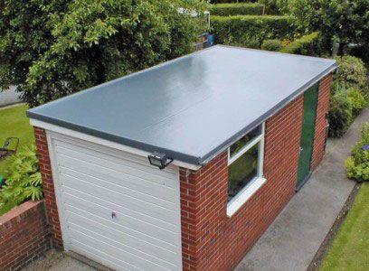 Плоский дах гаража