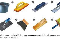 Інструменти для укладання плитки