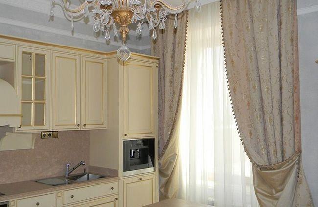 Фото - Як пошити кухонні штори своїми руками?