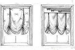 Різні варіанти оформлення лондонських штор