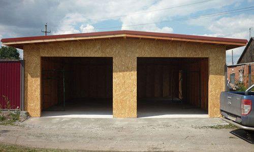Фото - Як побудувати каркасний гараж?