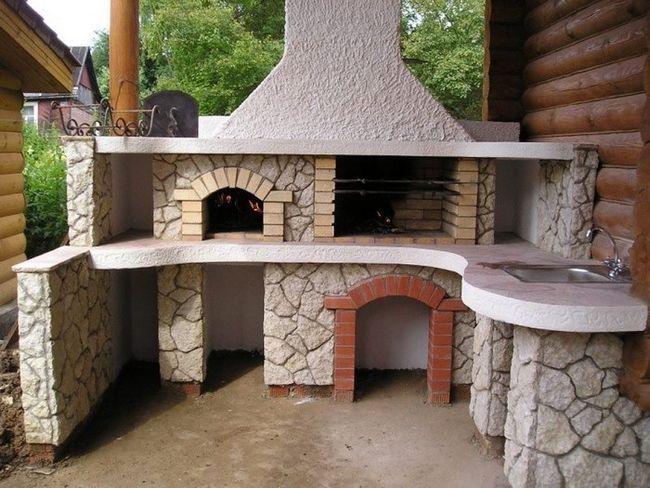 Фото - Як побудувати цегляну піч-барбекю?
