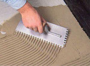 Фото - Як правильно робиться укладання плитки на підлогу
