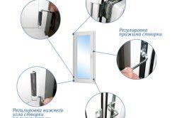 Загальна схема регулювання пластикового вікна