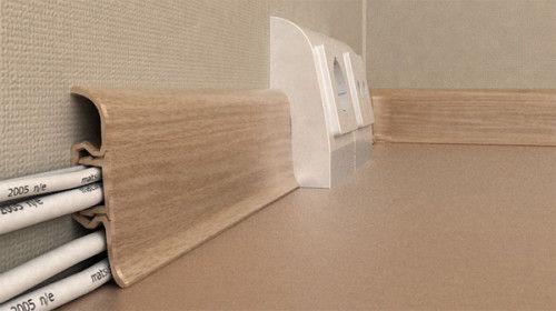 Фото - Як правильно клеїти тверді і гнучкі плінтуса на підлогу?