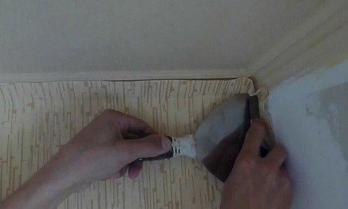 Фото - Як правильно клеїти вінілові шпалери в кути кімнати?