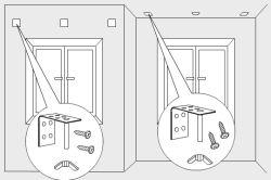Фото - Як правильно кріпити римські штори