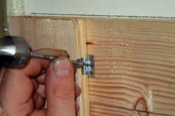 Кріплення вагонки при обшивці стін кляймери