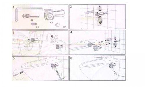 Фото - Як правильно кріпиться до стіни підвісний унітаз?