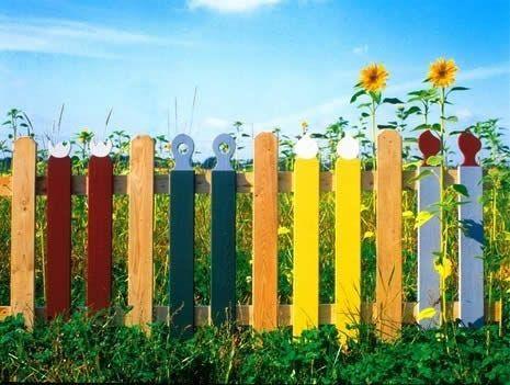 Фото - Як правильно пофарбувати новий паркан або реставрувати старий?