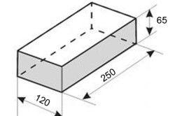 Типові розміри будівельної цегли