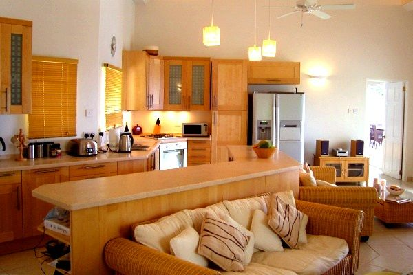 Фото - Як правильно відокремити кухню від вітальні?