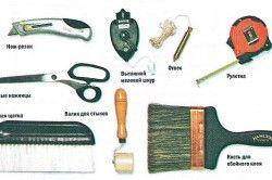 Інструменти для клеєння шпалер