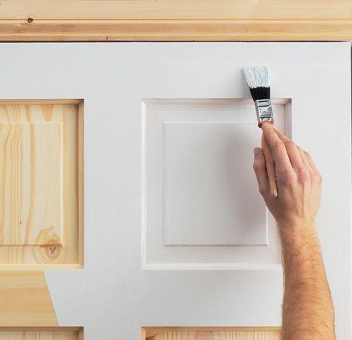 Фото - Як правильно пофарбувати міжкімнатні двері?