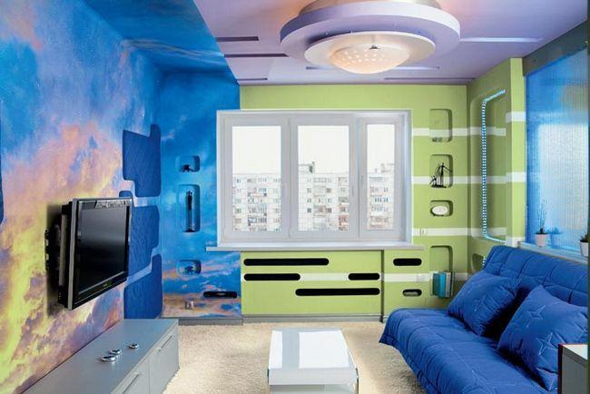 Фото - Як правильно пофарбувати в кімнаті стіни?