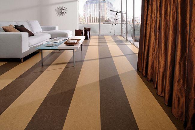Фото - Як правильно покласти лінолеум на дерев'яну підлогу без зайвих витрат?